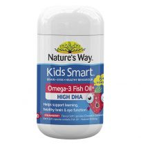 Nature's Way Kids Smart Chewable Omega 3 Strawberry 50 Capsules