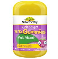 Nature's Way Kids Smart Vita Gummies Multi + Vegies 60 Pastilles