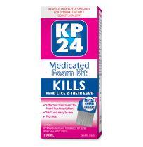 KP24 Head Lice Medicated Foam Kit 100ml