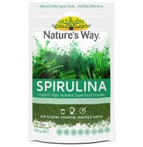 Nature's Way Super Foods Spirulina Organic Powder 100g