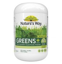 Nature's Way Super Foods Greens Plus Powder Tropical 300g
