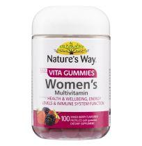 Nature's Way Adult Vita Gummies Women's Multivitamin 100 Pastilles