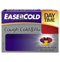 Ease a Cold Cough, Cold & Flu Day Time 20 Capsules