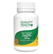 Quality Health High Strength CoQ10 150mg 100 Capsules