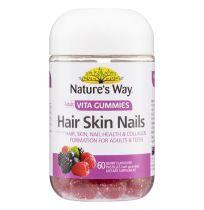 Nature's Way Adult Vita Gummies Hair, Skin & Nails 60 Pastilles