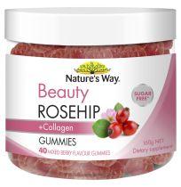 Nature's Way Beauty Collagen + Rosehip Gummies 40 Pack