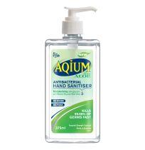 Ego Aqium Hand Sanitiser Aloe 375ml