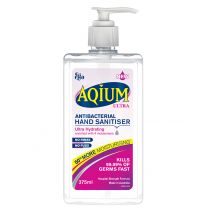 Ego Aqium Hand Sanitiser Ultra Hydrating 375ml