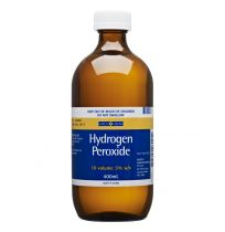 Gold Cross Hydrogen Peroxide Solution 3% 400ml