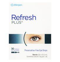 Refresh Plus Eye Drops 30 x 0.4ml