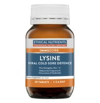 Ethical Nutrients Lysine 30 Tablets