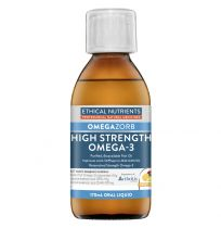 Ethical Nutrients OmegaZorb High Strength Fish Oil Fruit Punch 170ml