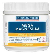 Ethical Nutrients MegaZorb Magnesium Powder Raspberry Flavour 200g