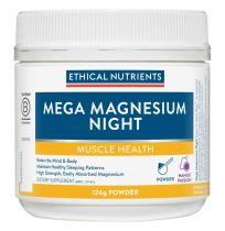 Ethical Nutrients MegaZorb Mega Magnesium Night Mango Passion Powder 126g