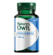 Nature's Own Fenugreek 1000mg 60 Capsules