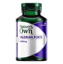 Nature's Own Valerian Forte 2000mg 60 Capsules