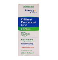 Pharmacy Choice Children's Paracetamol 1 - 5 Years Liquid 200ml