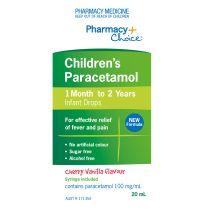 Pharmacy Choice Paracetamol Infant Drops 20ml