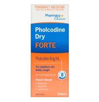 Pharmacy Choice Pholcodine Dry Cough Forte 200ml