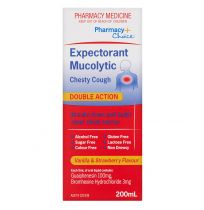 Pharmacy Choice Expectorant Mucolytic Chesty Cough Liquid 200ml