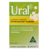 Ural Effervescent Powder 8 Sachets