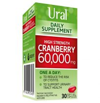 Ural High Strength Cranberry 60,000mg 30 Capsules