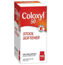 Coloxyl 50mg 100 Tablets