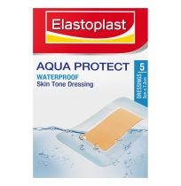 Elastoplast Aqua Protect Waterproof Skin Tone Dressing 5 Pack