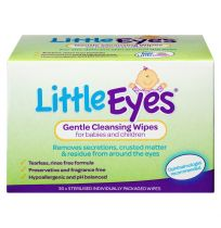 Little Eyes Gentle Cleansing Wipes for Babies & Children 30 Pack