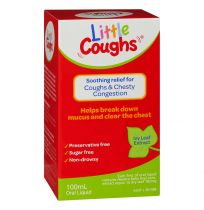 Little Coughs Ivy Leaf Extract Oral Liquid 100ml