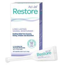 Aci Jel Restore Vaginal Moisturiser 6 Pack Applicator