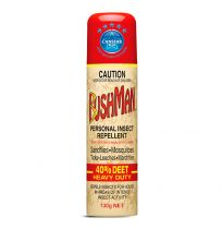 Bushman Heavy Duty Insect Repellent Aerosol 130g