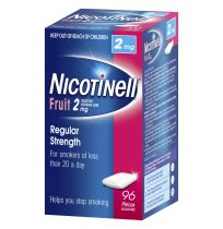 Nicotinell Gum 2mg Fruit 96 Pack
