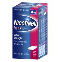Nicotinell Gum 4mg Fruit 96 Pack