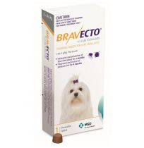Bravecto For Very Small Dogs Single Chewable Tablet