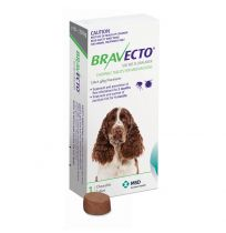 Bravecto For Medium Dogs Single Chewable Tablet