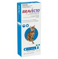 Bravecto Cat Medium 2.8kg - 6.25kg Blue 2 Pack