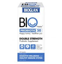Bioglan Bio Happy Probiotics 50 Billion 30 Capsules