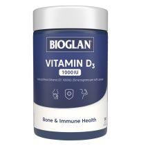 Bioglan Vitamin D3 1000IU 250 Capsules