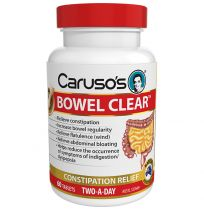 Caruso's Bowel Clear 60 Tablets