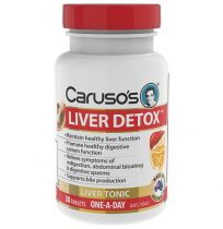 Caruso's Liver Detox One a Day 30 Tablets