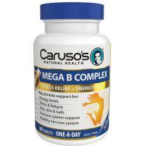 Caruso's Mega B Complex 60 Tablets