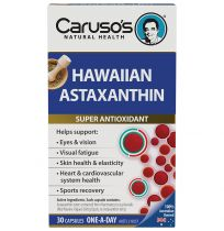 Caruso's Hawaiian Astaxanthin 30 Capsules
