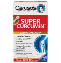 Caruso's Super Curcumin 90 Tablets