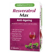 Naturopathica Resveratrol Max 30 Tablets