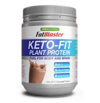 Naturopathica FatBlaster Keto Fit Plant Protein Powder Chocolate 300g