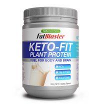 Naturopathica FatBlaster Keto Fit Plant Protein Powder Vanilla 300g