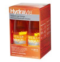 Hydralyte Electrolyte Solution Orange Oral Liquid 4 x 250ml