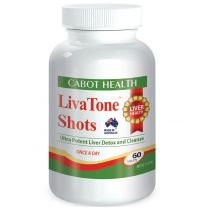 Cabot Health Liva Tone Shots 60 Tablets