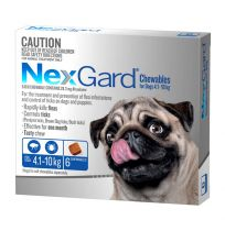 NexGard Small Dog Chewables 6 Pack